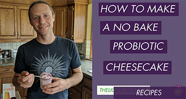 No Bake Probiotic Cheesecake