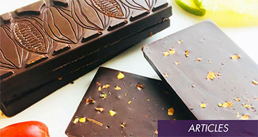 Salted Chili Lime Chocolate Bar