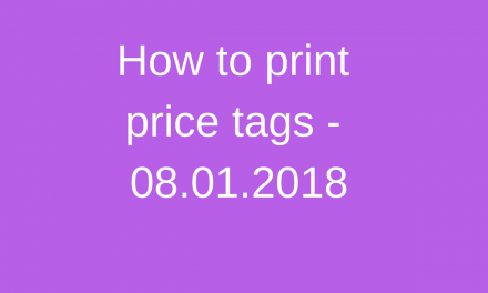 Protected: How to print price tags. (Shop Staff)