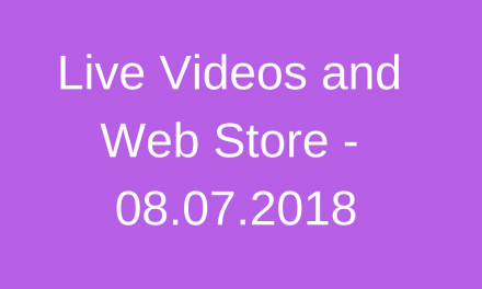 Protected: Live Videos and Web Store – 08.07.2018
