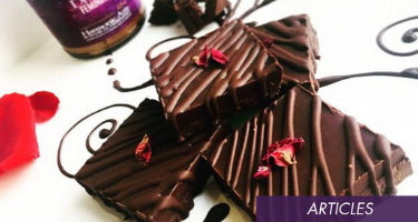 Chocolate Fudge Worthy Of The Most Intense Chocolate Moon-Time Craving