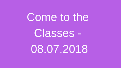 Protected: Come to the Classes