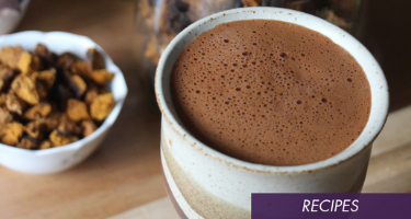 Impress Your Friends With This Delicious & Healing Chaga Hot Chocolate Recipe☕