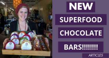NEW Superfood Chocolate Bars