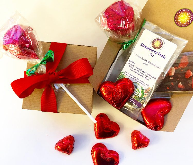 Valentines Seasonal Specials Superfood Chocolates, Elixirs, Cheesecakes and more…