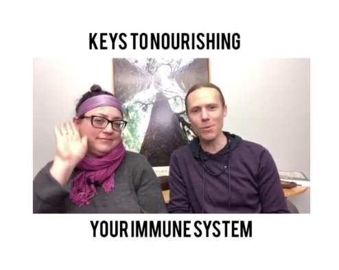 Why Nourishing Your Immune System is the Key and How to Do That…